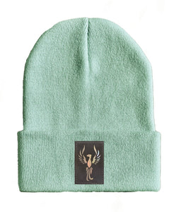 phoenix yoga Beanie hat by Buddha Gear