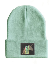 Load image into Gallery viewer, unicorn yoga Beanie hat by Buddha Gear