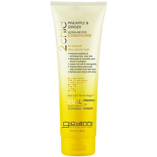 GIOVANNI Conditioner - 2chic Ultra-Revive (Dry, Unruly Hair) 250ml - Welcome Organics