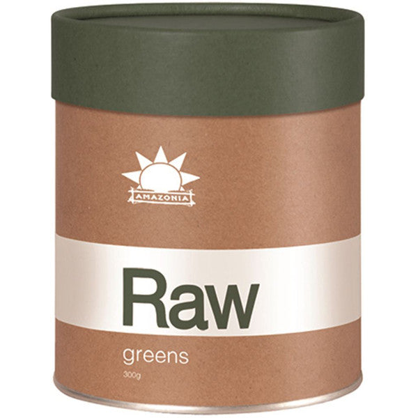 AMAZONIA Raw Prebiotic Greens 300g - Welcome Organics