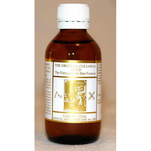 ORIGINAL COLLOIDAL  Colloidal Gold 100ml - Welcome Organics