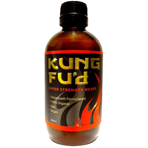 HEALTH 2U Super Strength Herbs Kung Fu'd 200ml - Welcome Organics