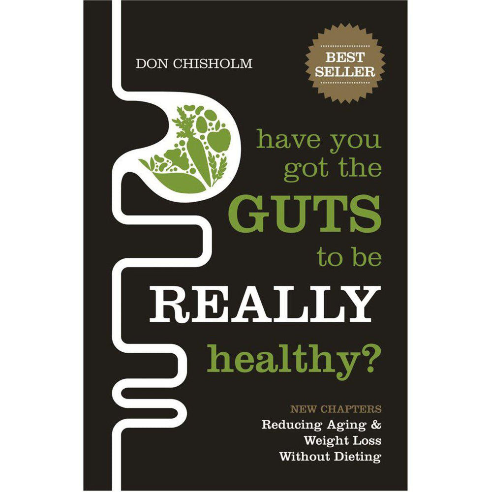BOOKS Have You Got The Guts To Be Really Healthy by Don Chisolm-BOOKS-Welcome-organics