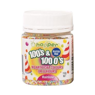 HOPPER 100's and 1000's Rainbow 150gm-HOPPER-Welcome-organics