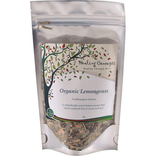 HEALING CONCEPTS Organic Lemongrass Tea 40g* - Welcome Organics