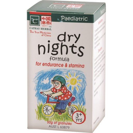 CATHAY HERBAL Paediatric Dry Nights Formula 50g-CATHAY HERBAL-Welcome-organics