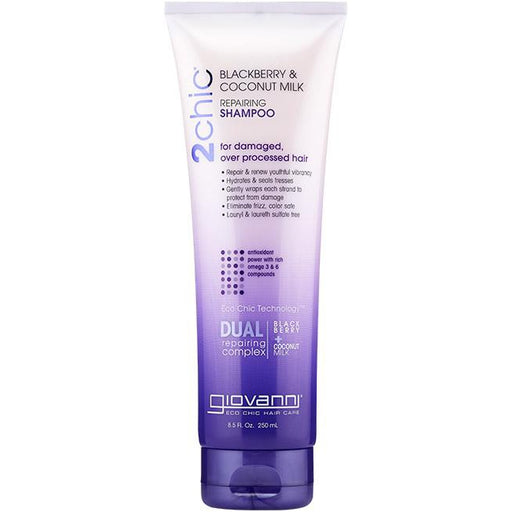 GIOVANNI Shampoo - 2chic Ultra-Repair (Damaged Hair) 250ml - Welcome Organics