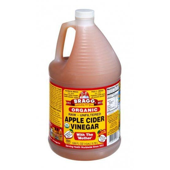 BRAGG Apple Cider Vinegar ACV Unfiltered & Contains The Mother 3.8L - Welcome Organics