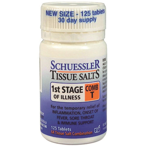 MARTIN PLEASANCE Combination T 1st Stage of Illness Schuessler Tissue Salts 125t-MARTIN PLEASANCE-Welcome-organics