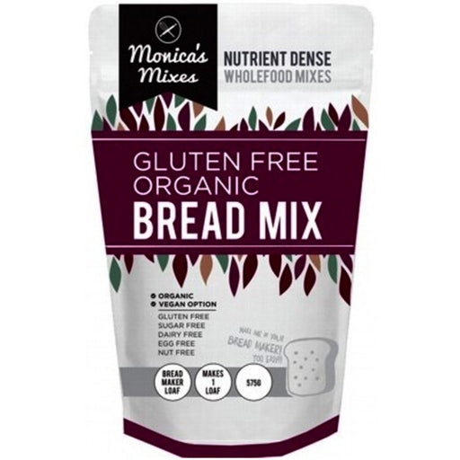 THE GLUTEN FREE FOOD CO Gluten Free Bread Mix Nutrient Dense Wholefood Mix 575gm-THE GLUTEN FREE FOOD CO-Welcome-organics