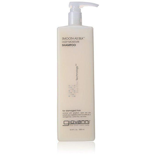 GIOVANNI Shampoo Smooth As Silk (Damaged Hair) 1L-GIOVANN-Welcome-organics
