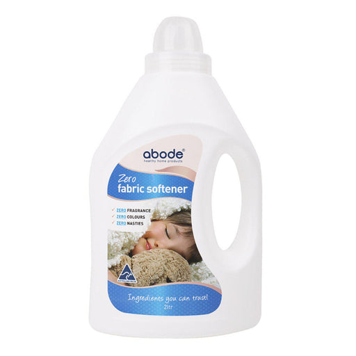 ABODE Fabric Softener (Front & Top Loader) Zero 2L - Welcome Organics