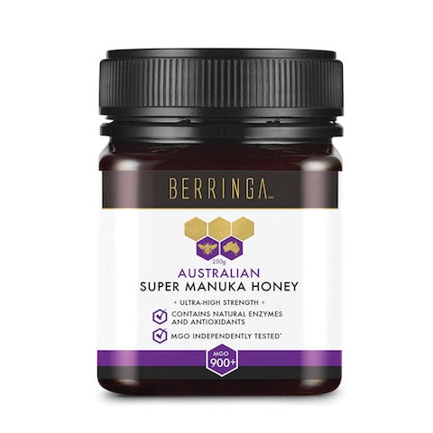 BERRINGA Australian Manuka Honey Active (+900 MGO) 250g - Welcome Organics