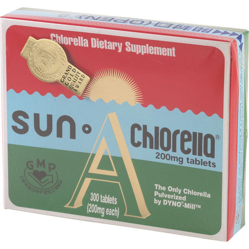 SUN A Chlorella 200mg 300t-SUN-Welcome-organics
