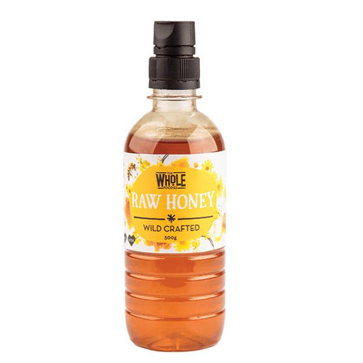 THE WHOLE FOODIES Squeeze Honey (Wild Crafted) 500g - Welcome Organics