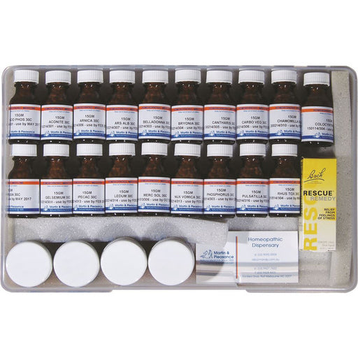 MARTIN PLEASANCE Large Homoeopathic First Aid Kit-MARTIN PLEASANCE-Welcome-organics