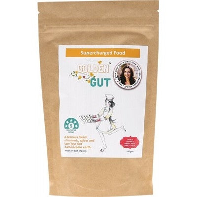 SUPERCHARGED FOOD  Golden Gut Powder 100g - Welcome Organics