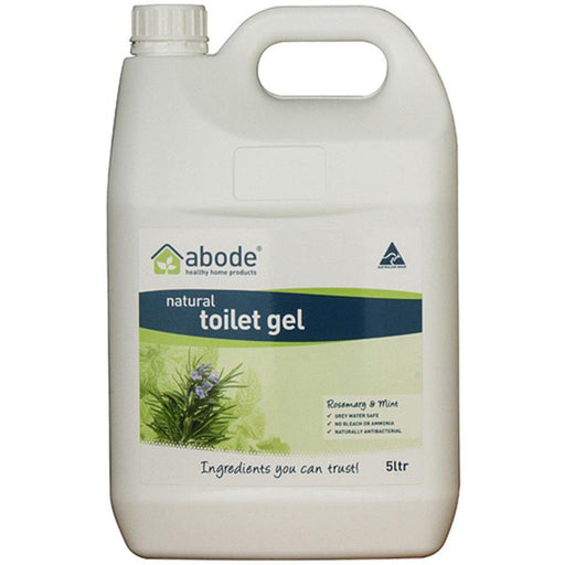 ABODE Toilet Gel Rosemary & Mint 5L - Welcome Organics
