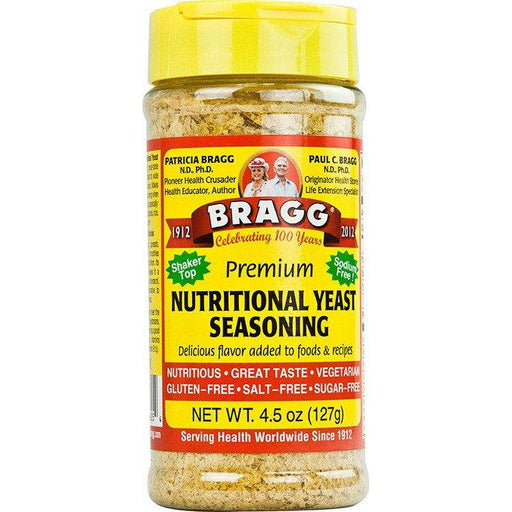 BRAGG Nutritional Yeast Seasoning 127gm-BRAGG-Welcome-organics