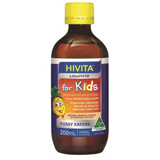 HIVITA Liquivita for Kids (Liquid Multi) 200ml - Welcome Organics