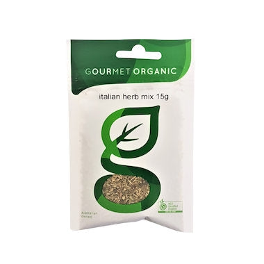 GOURMET ORGANIC HERBS Italian Herb Mix 15gm - Welcome Organics
