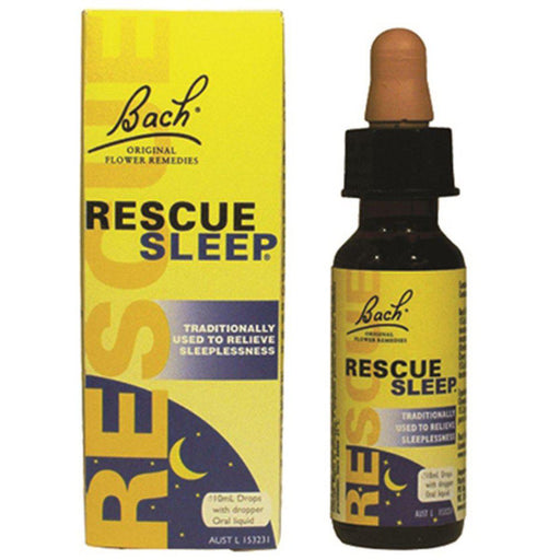 BACH FLOWER REMEDIES Rescue Sleep Drops 10ml - Welcome Organics