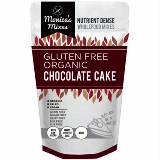 THE GLUTEN FREE FOOD CO.  Chocolate Cake Mix 500g - Welcome Organics