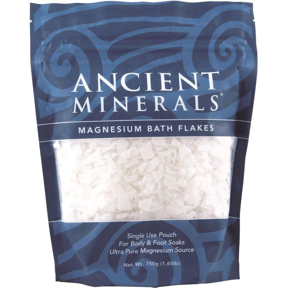 ANCIENT MINERALS Magnesium Bath Flakes 750gm-ANCIENT MINERALS-Welcome-organics