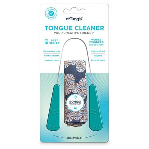 DR TUNGS Tongue Cleaner Stainless Steel - Welcome Organics
