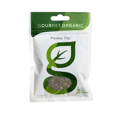 GOURMET ORGANIC HERBS Parsley 10g - Welcome Organics