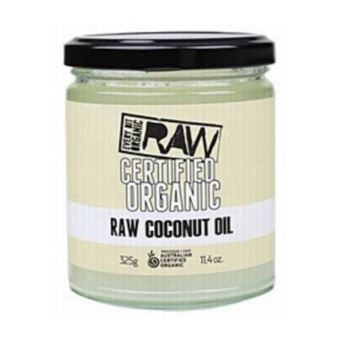 EVERY BIT ORGANIC RAW Organic Coconut Oil 325gm-EVERY BIT ORGANIC RAW-Welcome-organics