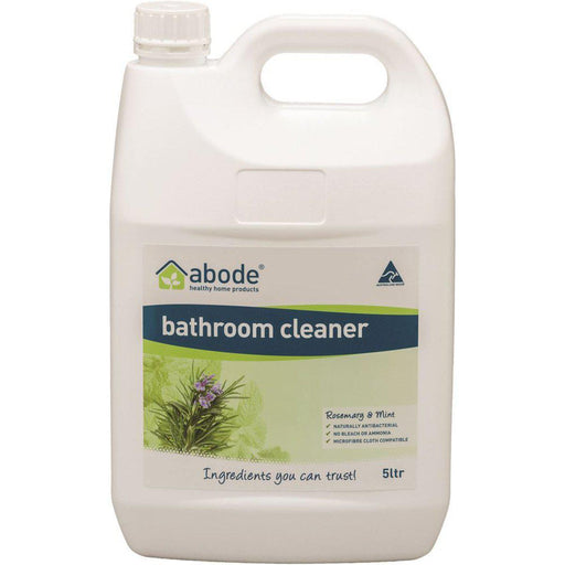 ABODE Bathroom Cleaner Rosemary & Mint 5L - Welcome Organics