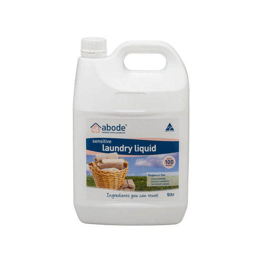 ABODE Laundry Liquid (Front & Top Loader) Zero 5L - Welcome Organics