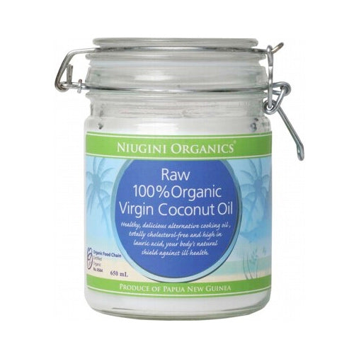 NIUGINI ORGANICS 100% Pure Virgin Coconut Oil 650ml-NIUGINI ORGANICS-Welcome-organics