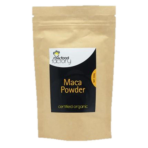 RAW FOOD FACTORY Organic Maca Powder 200g - Welcome Organics