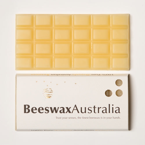 Organic Beeswax Block 100g-northern light-Welcome-organics