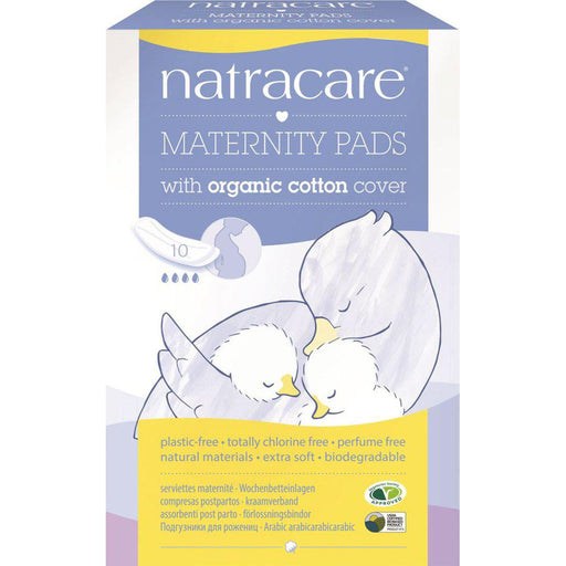NATRACARE 10 Maternity Pads-NATRACARE-Welcome-organics