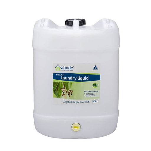 ABODE Laundry Liquid Bulk (Front & Top Loader) 20L Drum with Tap