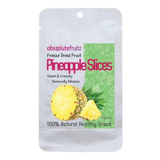 ABSOLUTEFRUITZ Freeze-Dried Pineapple Slices 18g