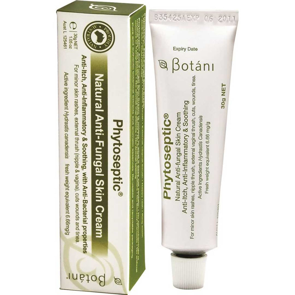 BOTANI Phytoseptic Anti-Fungal Cream 30g - Welcome Organics