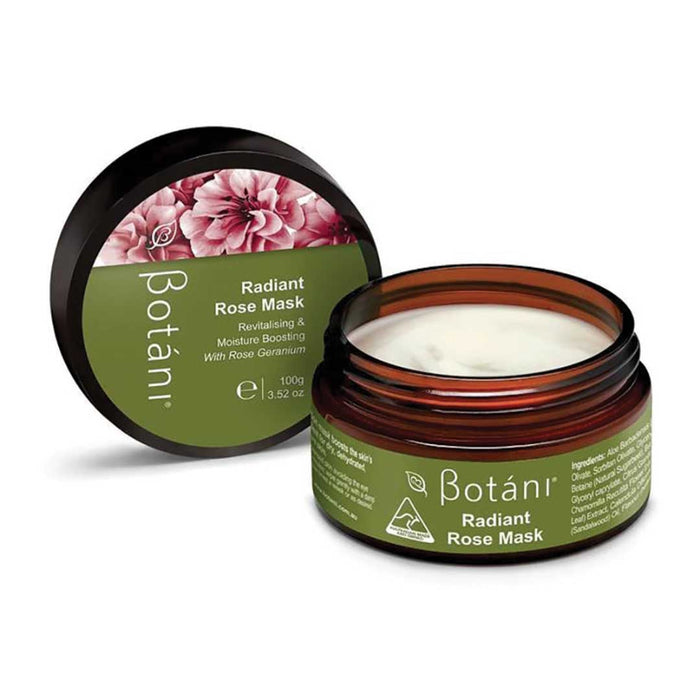 BOTANI Radiant Rose Mask 100g