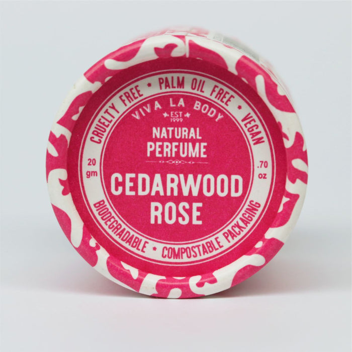 VIVA LA BODY Natural Perfume Cedarwood Rose 20g