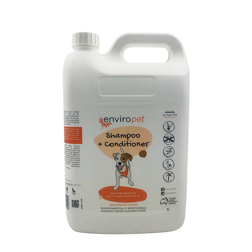 ENVIROPET Pet Shampoo and Conditioner 5L