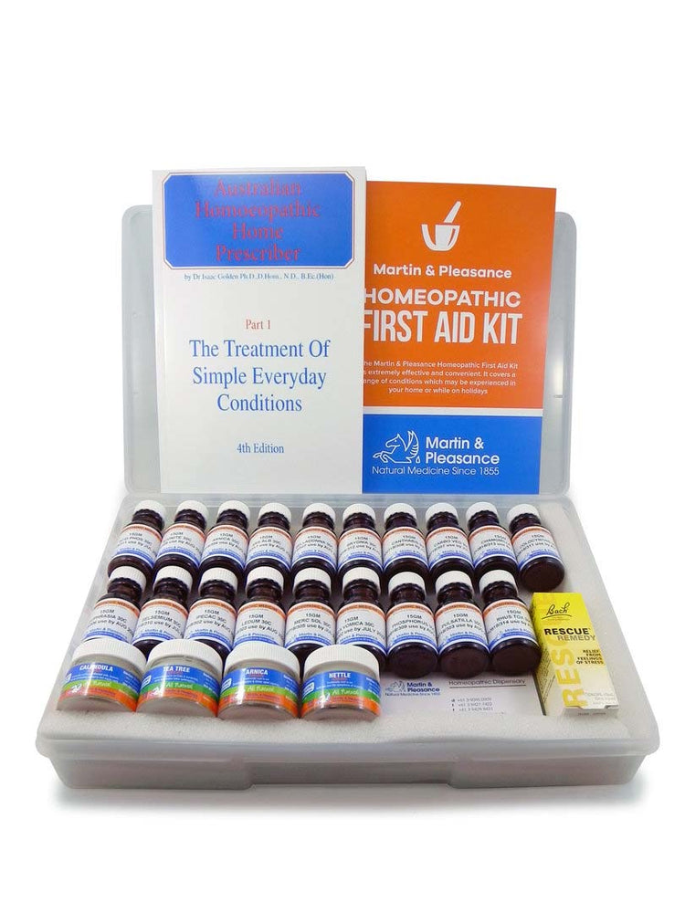 MARTIN & PLEASANCE Homoeopathic First Aid Kit Large - Welcome Organics