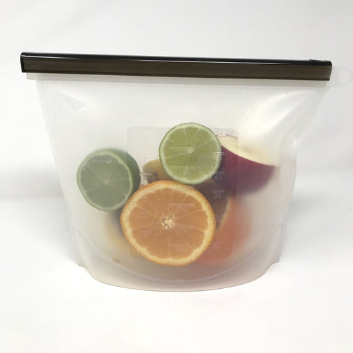 LITTLE MASHIES 1000ml Reusable Silicone Storage Bag