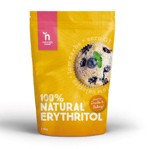 NATURALLY SWEET Erythritol 2.5kg - Welcome Organics