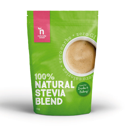 NATURALLY SWEET 100% Natural Stevia Blend 1Kg - Welcome Organics
