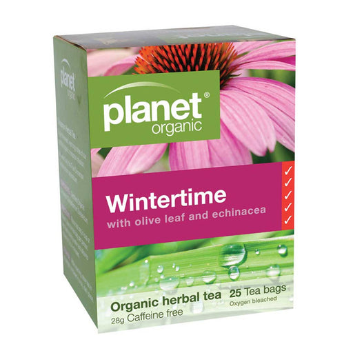 PLANET ORGANIC Wintertime Herbal Tea x 25 Tea Bags - Welcome Organics