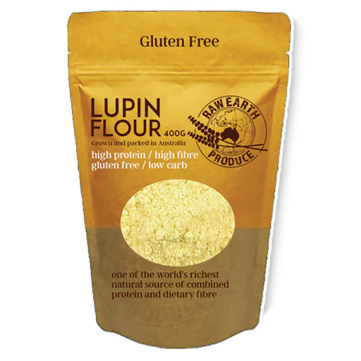 RAW EARTH PRODUCE Lupin Flour 400g - Welcome Organics