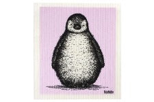 RETROKITCHEN 100% Biodegradable DishCloth Penguin